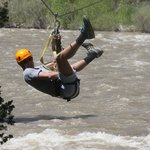 Zip over the Gallatin was awesome