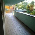 corridoio accesso camere