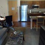 One Bedroom kitchen area