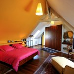 La chambre jaune. The yellow bedroom