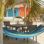 Porch sets and hammocks to enjoy it all