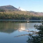 View from the 3.8 mi hiking trail around Suttle Lake