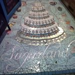 Lovely mosaic in the entryway