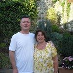 Hosts extraordinaire!  Gary and Linda Hall