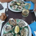 and now the oyster... wonderfull