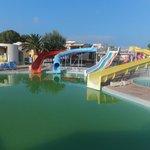 children's pool and aqua park