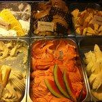 Dozens of Gelato flavors