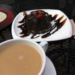 Chocolate cake & Coffee