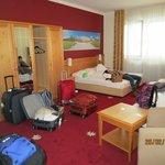 habitacion cuádruple en Hotel-Annex Der Salburger Hof