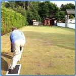 Lawn bowling - so much fun!
