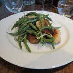lamb's sweetbbreads, green beans& mint