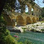 Pont du Gard - kayaking