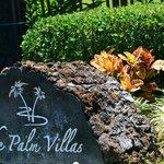 Palm Villas Gated Entrance