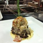 8pz filet topped with Alaskan king crab and whipped marscapone cheese