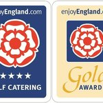 Enjoy England awarded us 4 stars and a couple of apartments have the Gold Award