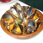 Mussels for starter -  simply Perfect