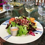 Awesome lunch, Ahi Tuna salad