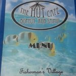 Extensive menu in English & Thai