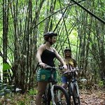 bamboo forest, Bai Hai cycle ride,Bali