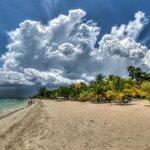 Expansive beach..
