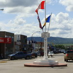 Mile O  Middle of town  Dawson Creek