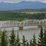 Teslin Bridge in the Yukon