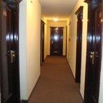 pasillo y al fondo nuestra habitacion