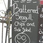Local restaurant humour