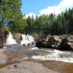 Gooseberry Falls, Middle Falls