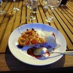 Christelle delicious cherry tart dessert