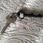 Charming room key