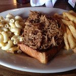 BBQ, Mac and Cheese, and fries ... simply amazing