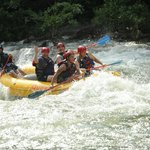River rafting with my boys on the Ocoee River in TN