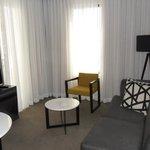 Living Room w/ Flat Screen TV, Sleeper Sofa