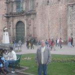 Plazoleta Espinar y atrás Iglesia La Merced