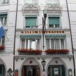 Wilden Mann Hotel Front Entrance