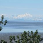 A view from nearby, across the Cook Inlet. Mt. Redoubt