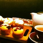 A great selection of teas and sweets