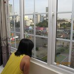 Looking out form the Room 401