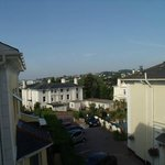 View from single room at Riviera Lodge, Torquay
