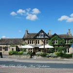 The Red Lion Pub . Burley-in-Wharfedale