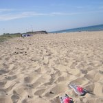 Rosslare Harbour Beach 2minutes walk away from Hotel Rosslare