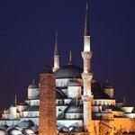 Zimmeraussicht auf Blaue Moschee