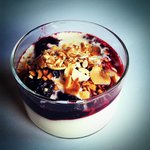 baked berry and semolina delight