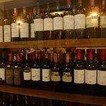 Estante de vinhos