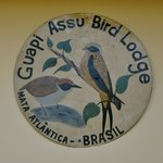 Logo of the lodge which specializes in bird watching
