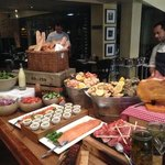 The incredible spread at Sunday Brunch (not to be missed!)