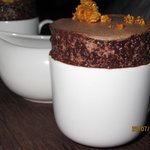 Chocolate soufflé ....to die for !!