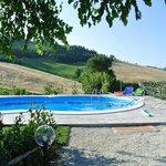 Una delle splendide piscine