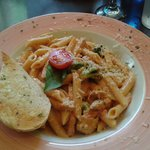 Pasta special. Yummy